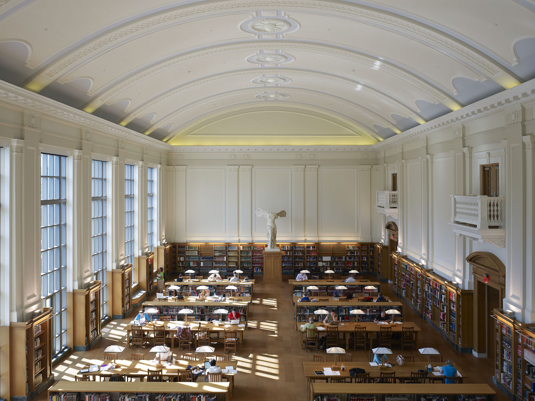 William Oxley Thompson Memorial Library at The Ohio State University by Gund Partnership & Acock Associates