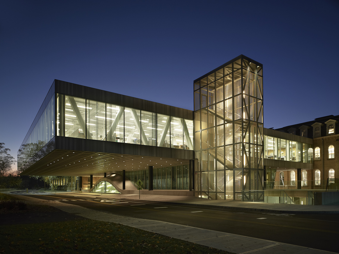 Milstein Hall at Cornell University by OMA