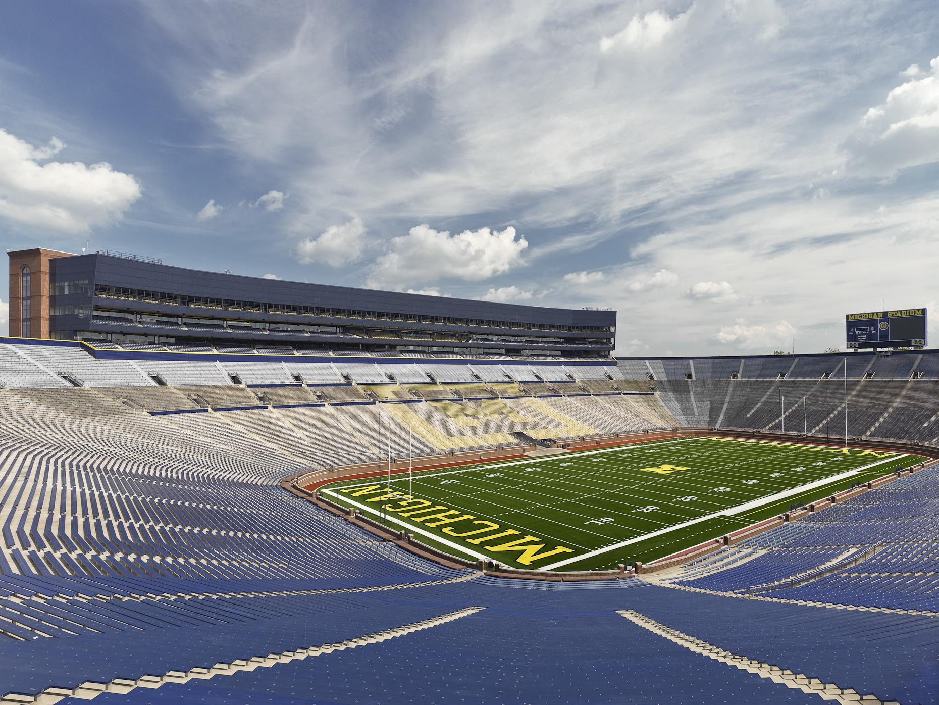 Michigan Stadium / The Big House at the University of Michigan | HNTB