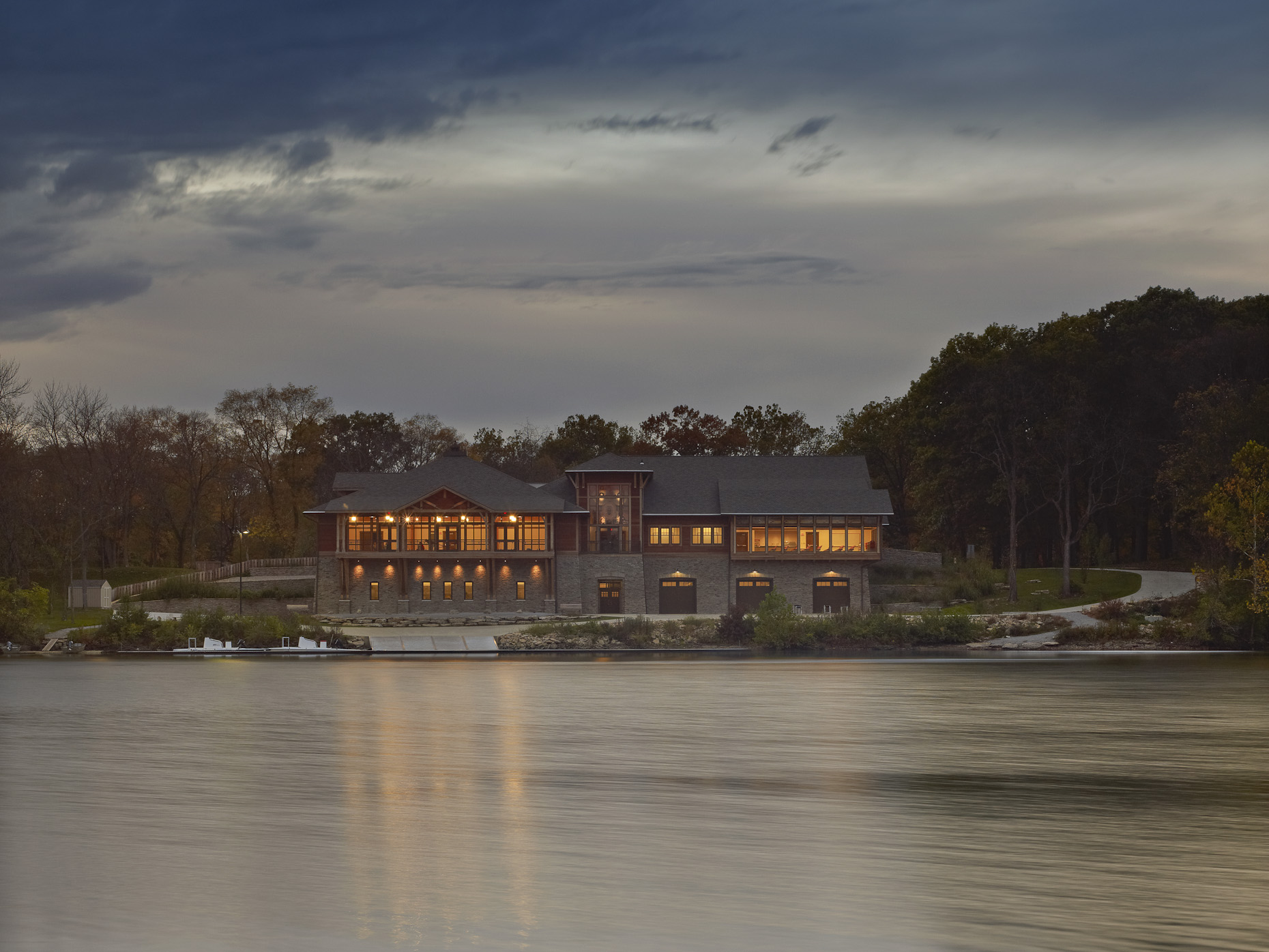 Griggs Reservoir Boathouse | Schooley Caldwell Associates