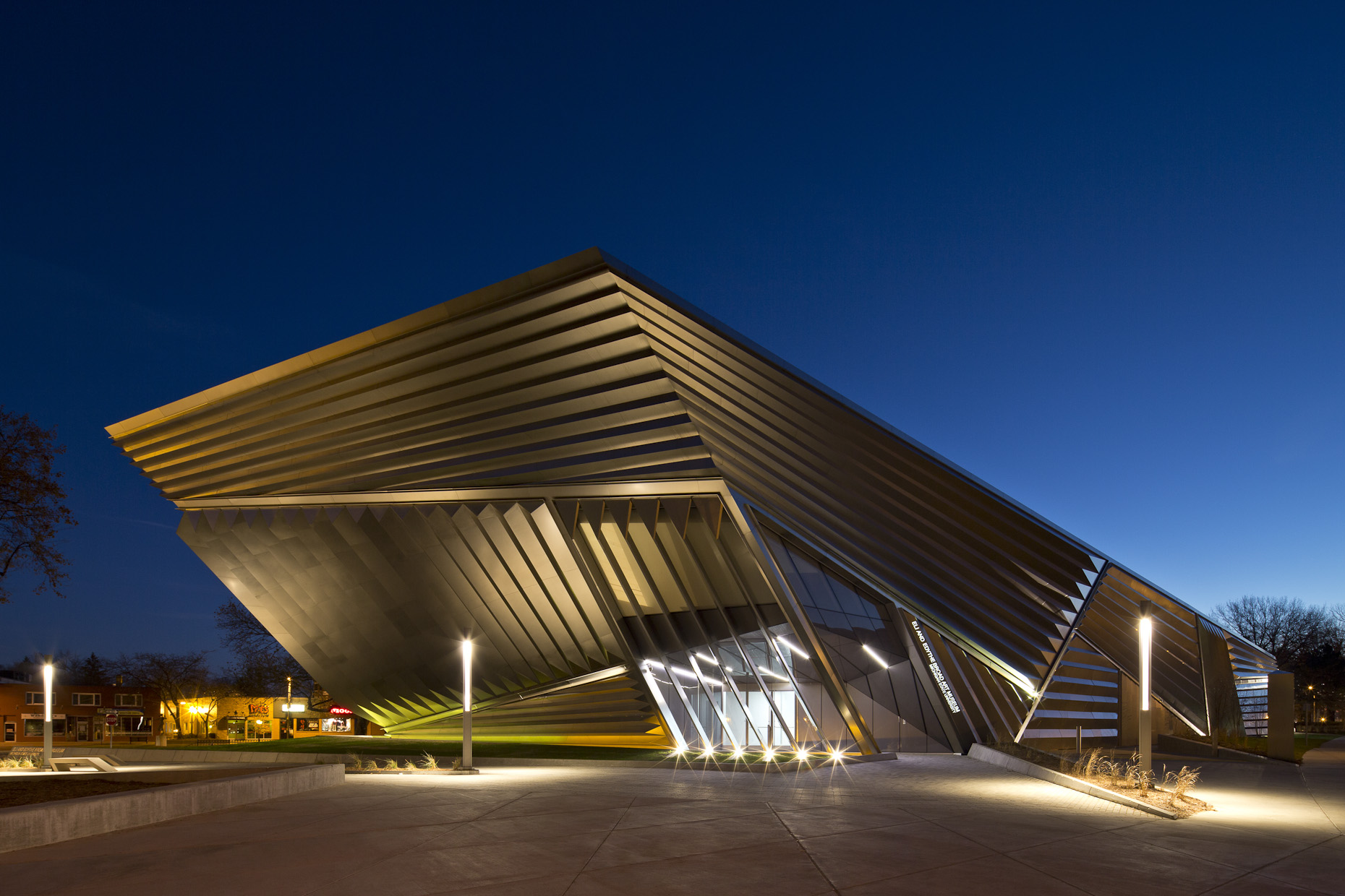 Eli& Edythe Broad Art Museum at Michigan State University | Zaha Hadid Architects
