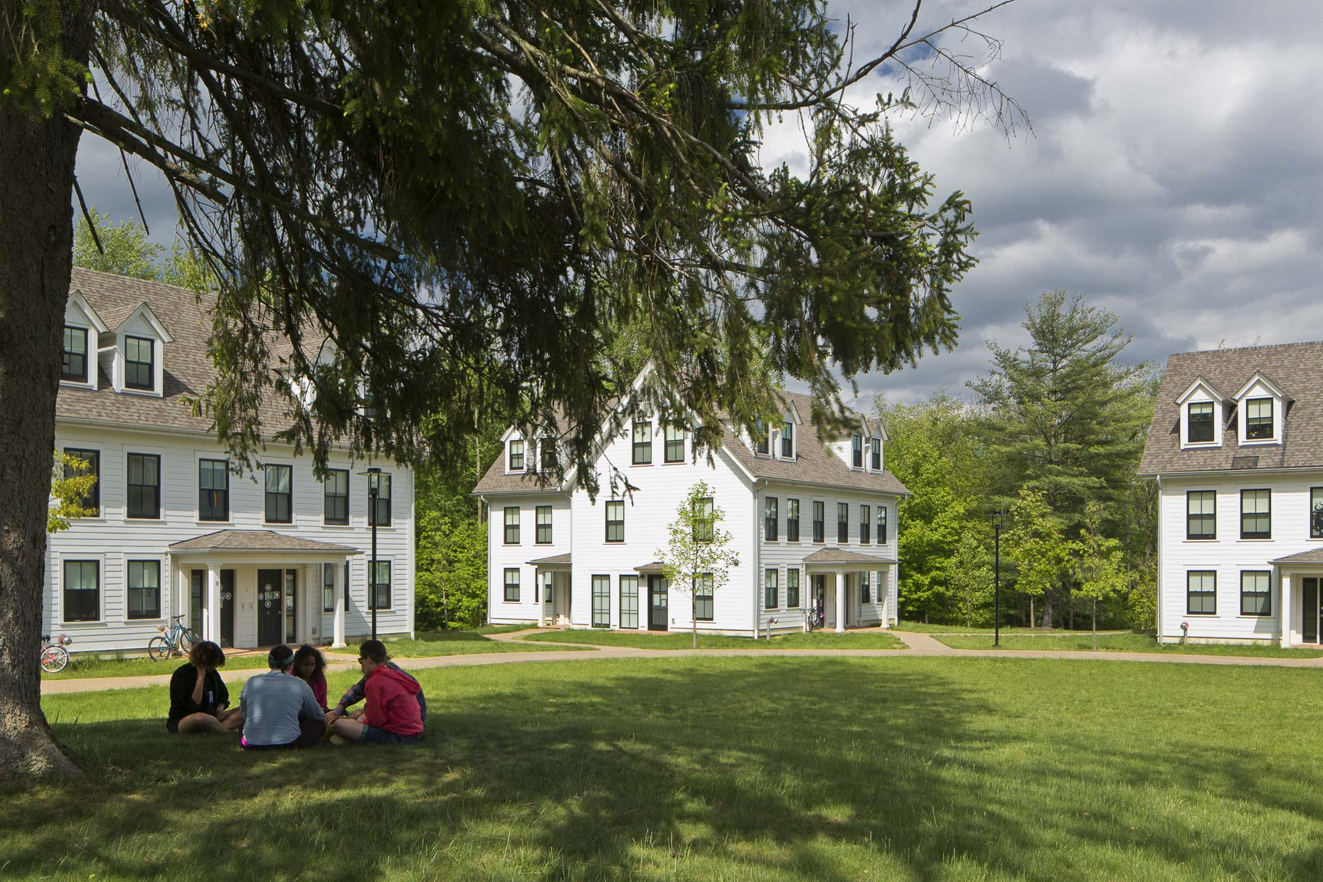 North Campus Housing at Kenyon College photographed by Brad Feinknopf based in Columbus, Ohio