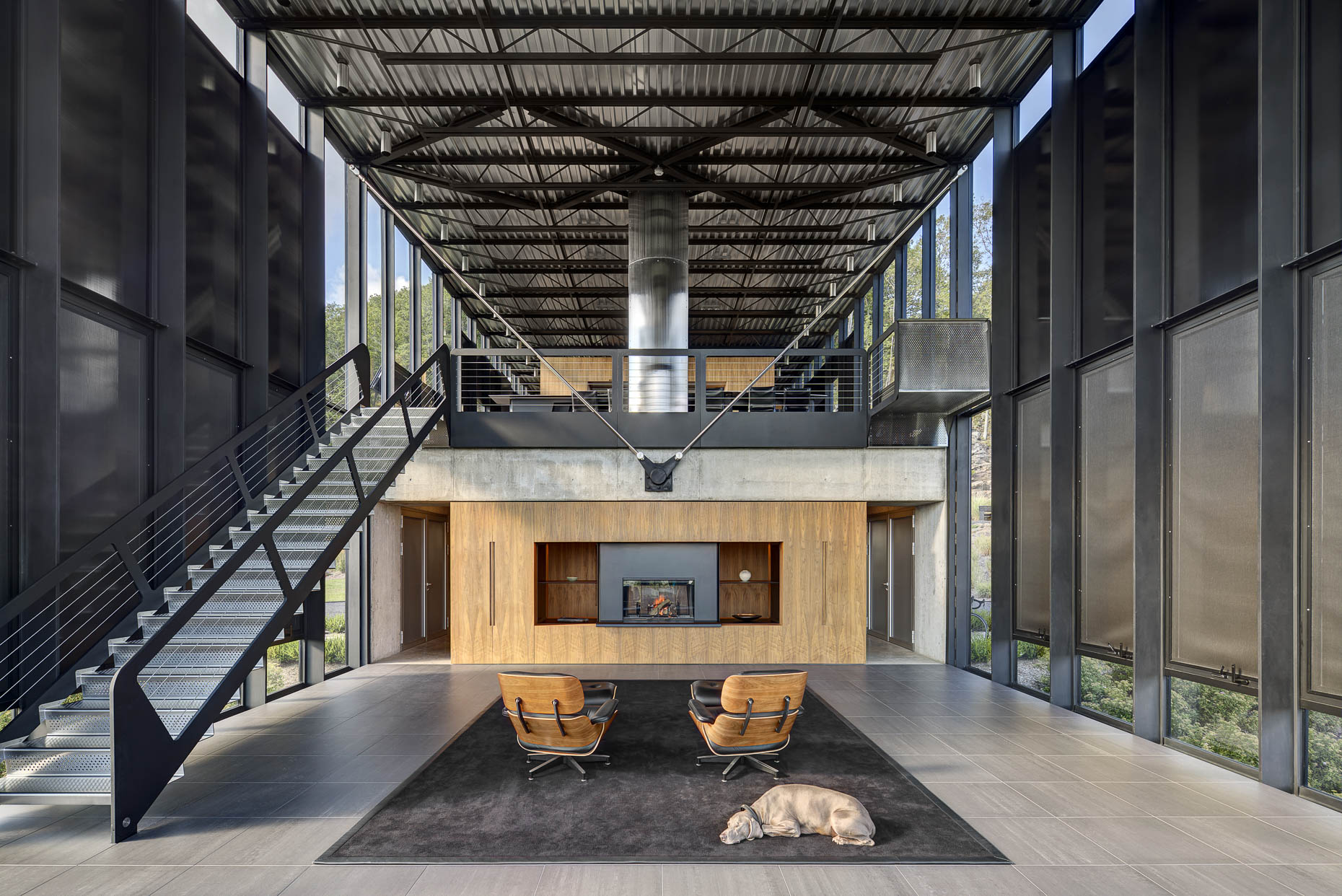 Shokan Private Residence by Jay Bargmann photographed by Brad Feinknopf based in Columbus, Ohio