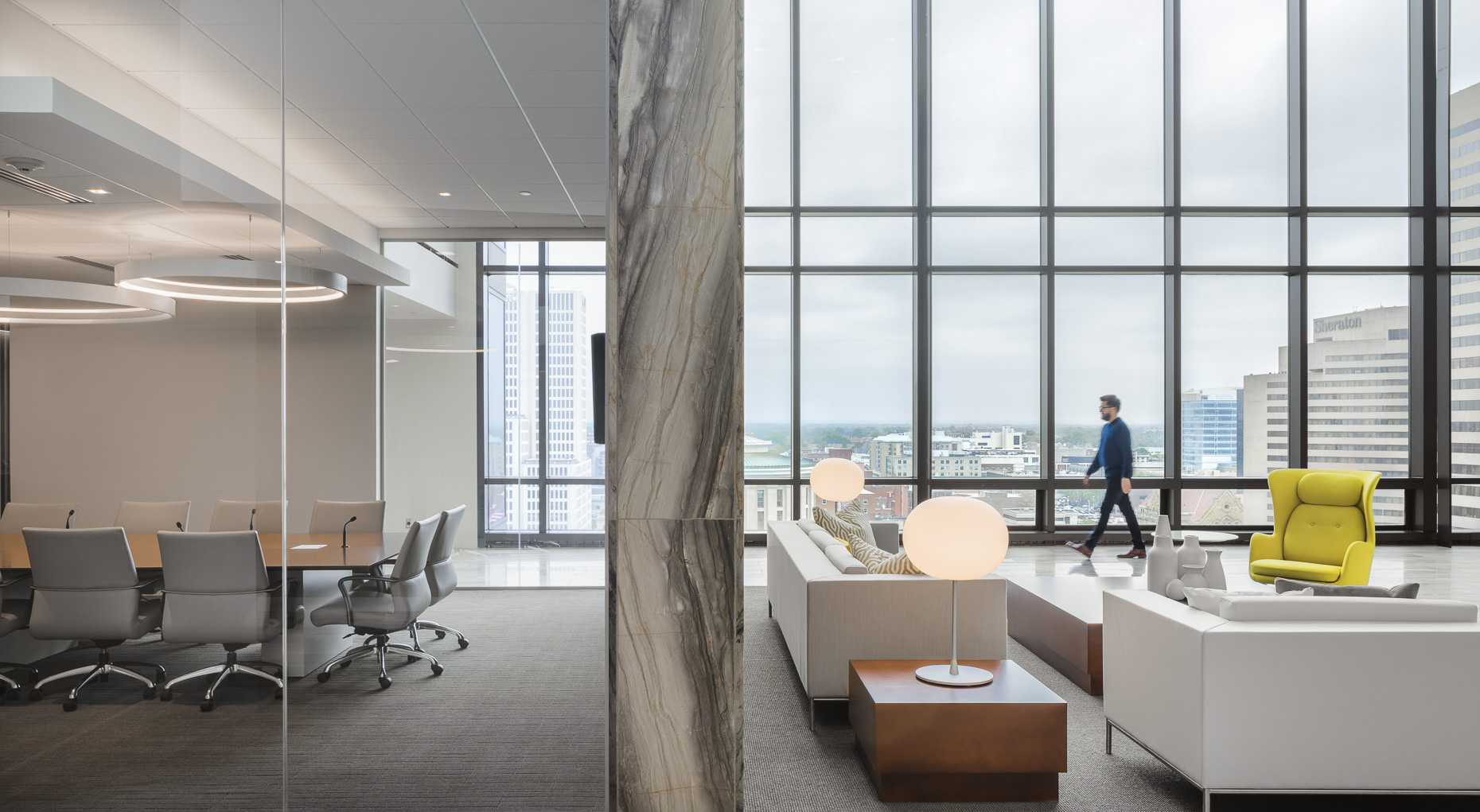 Calfee Columbus Office by VOCON photographed by Brad Feinknopf based in Columbus, Ohio