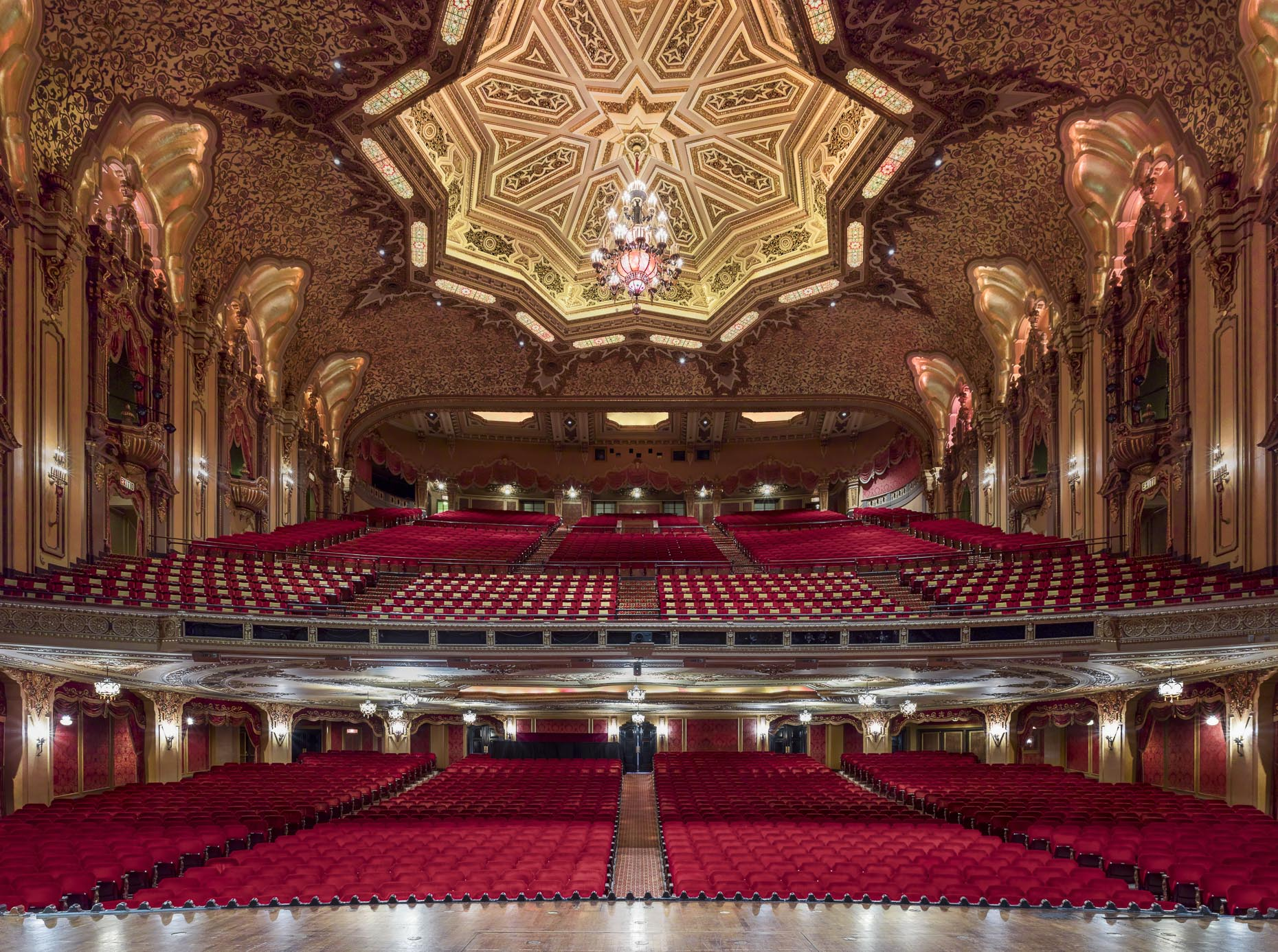 The Ohio Theater for CAPA photographed by Brad Feinknopf based in Columbus, Ohio