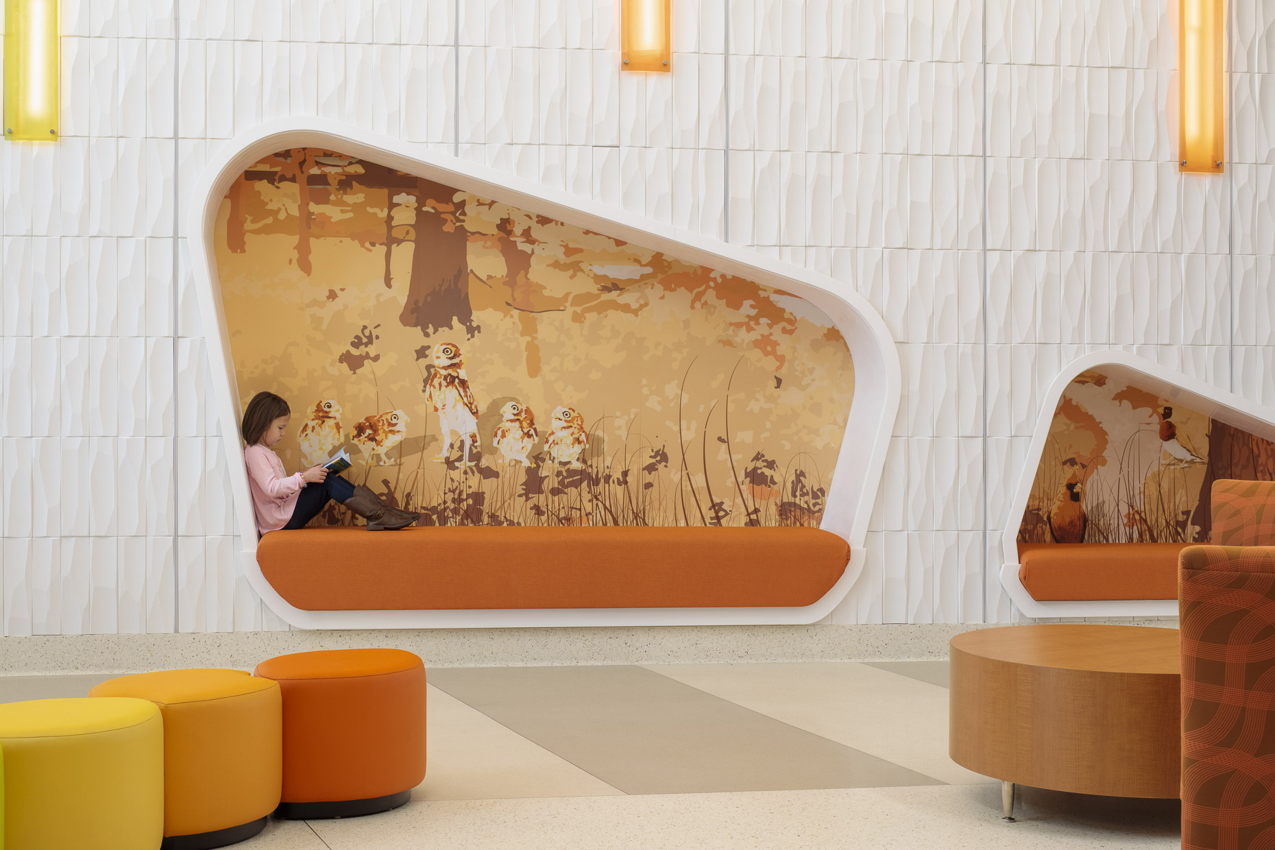 UofL Physicians Novak Center for Children by GBBN photographed by Brad Feinknopf based in Columbus, Ohio