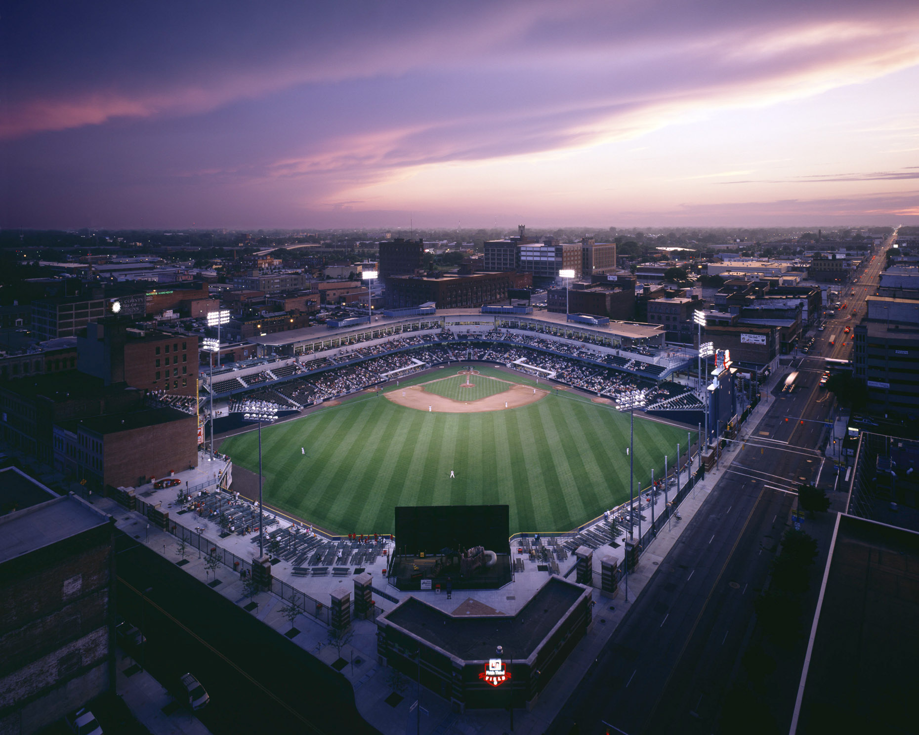 5/3 Field by HNTB photographed by Brad Feinknopf based in Columbus, Ohio