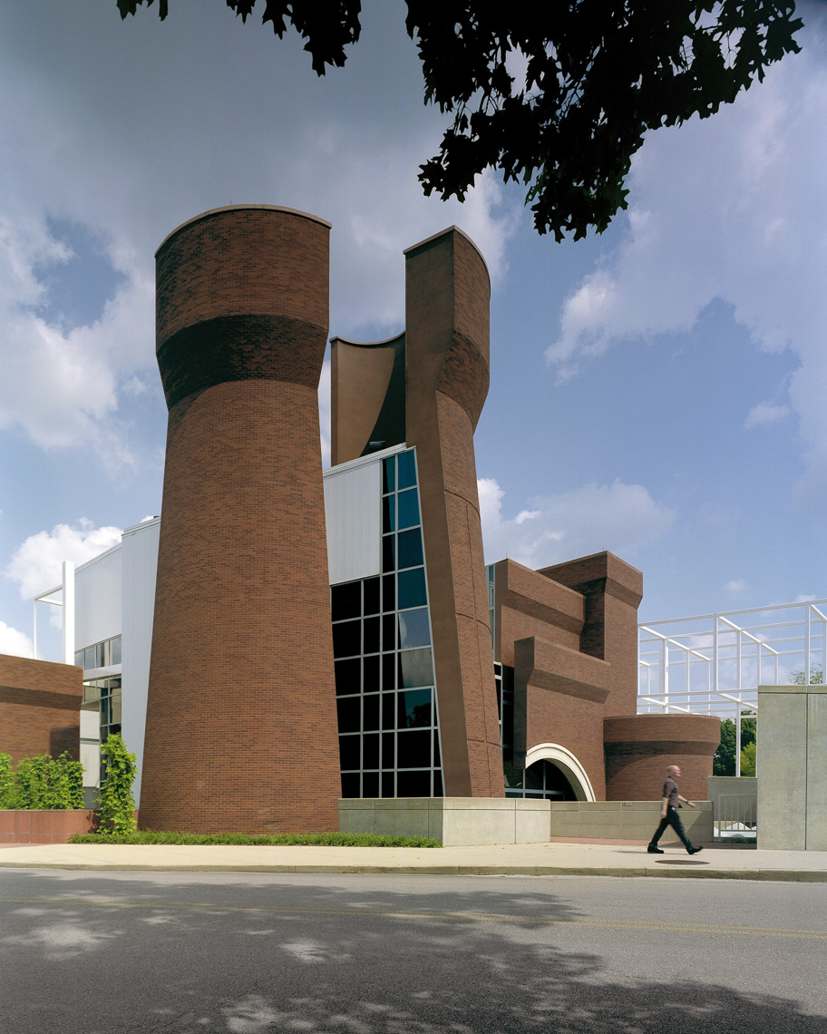 OSU Wexner Center for the Arts by Peter Eisenmann & Richard Trott photographed by BRad Feinknopf based in Columbus, Ohio