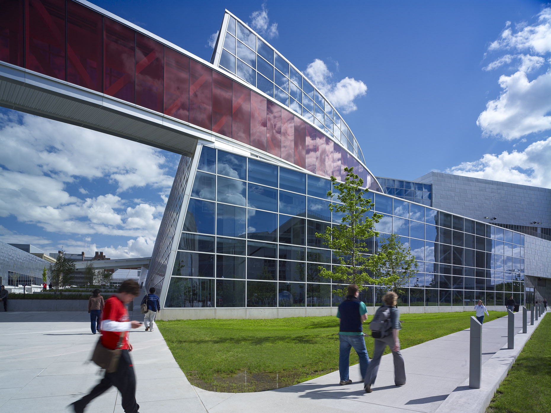 OSU RPAC by Antoine Predock & Acock Associates Architects photographed by Brad Feinknopf based in Columbus, Ohio