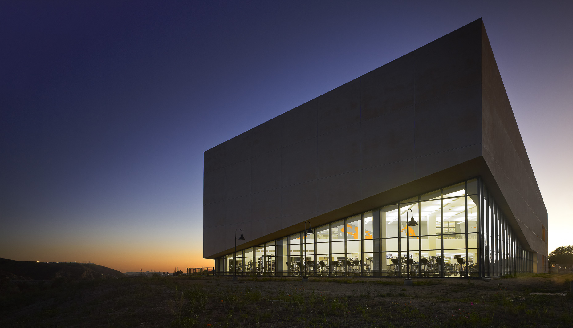 Mission College Student Recreation Center by Cannon Design photographed by Brad Feinknopf based in Columbus, Ohio