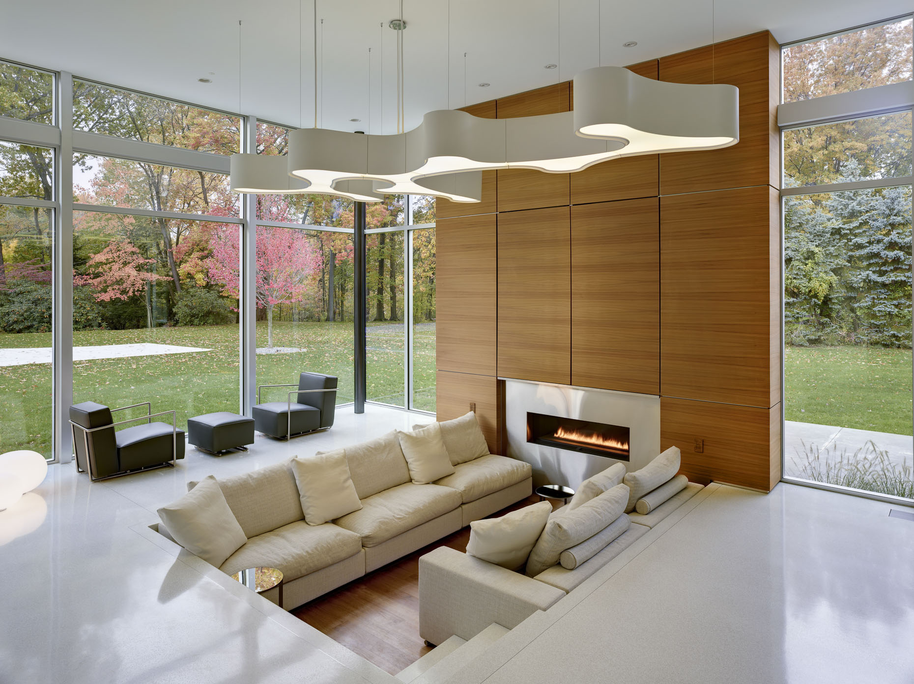 Shaker Heights Private Residence by Dimit Architects photographed by Brad Feinknopf based in Columbus, Ohio