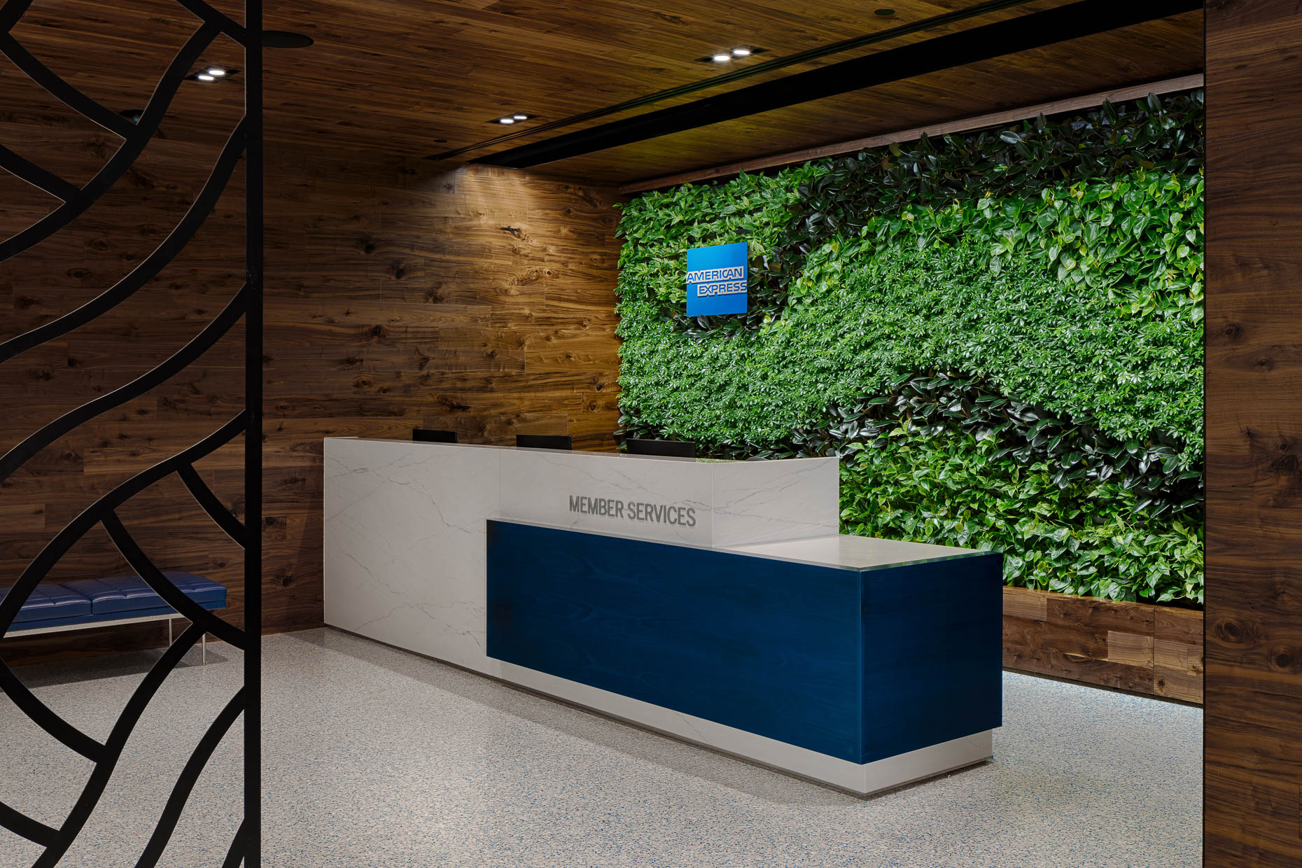 Charlotte Douglas International Airport AMEX Centurion Lounge for American Express photographed by Brad Feinknopf based in Columbus, Ohio