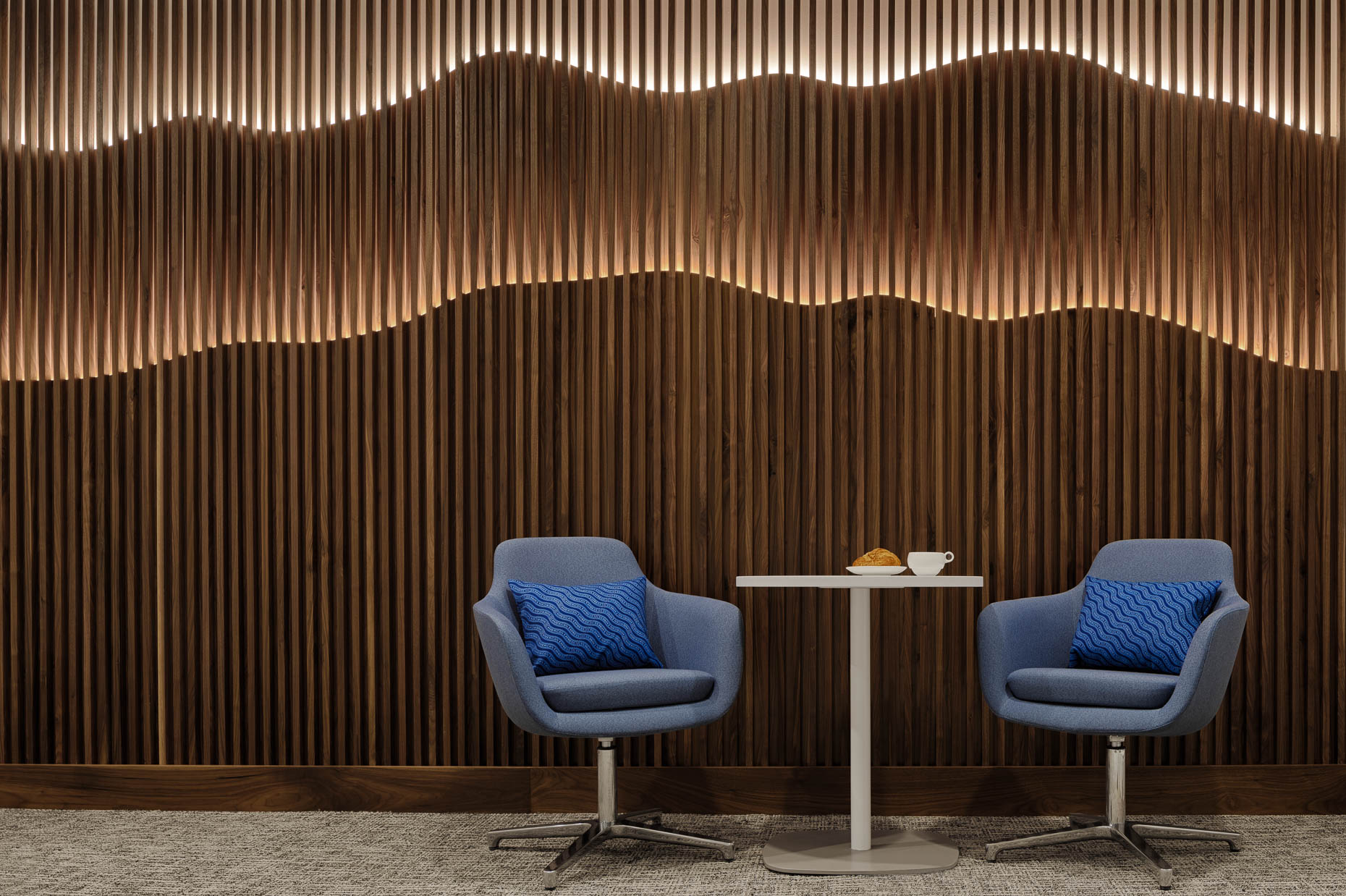 Los Angeles International Airport AMEX Centurion Lounge for American Express photographed by Brad Feinknopf based in Columbus, Ohio