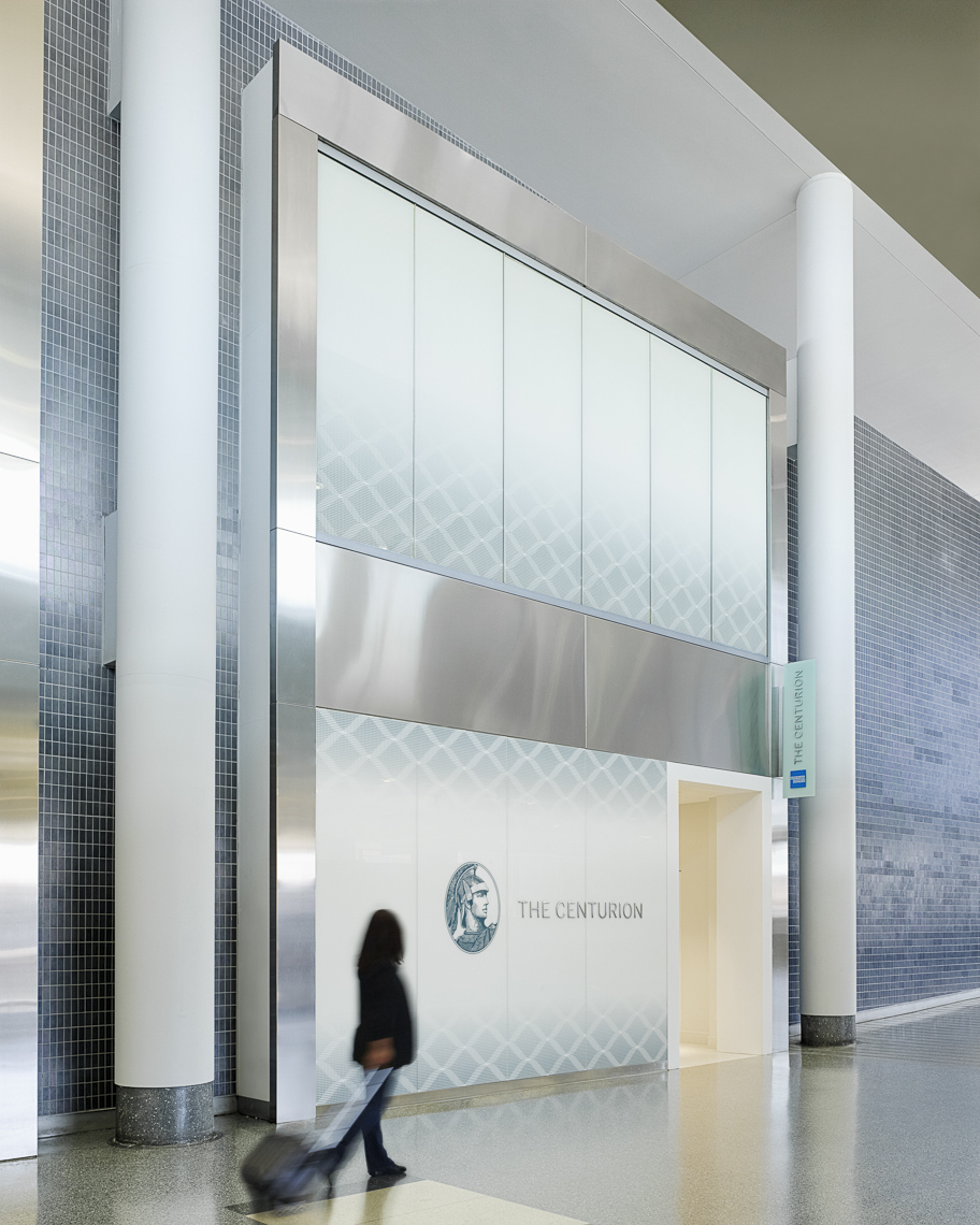 Philadelphia International Airport AMEX Centurion Lounge for American Express photographed by Brad Feinknopf based in Columbus, Ohio