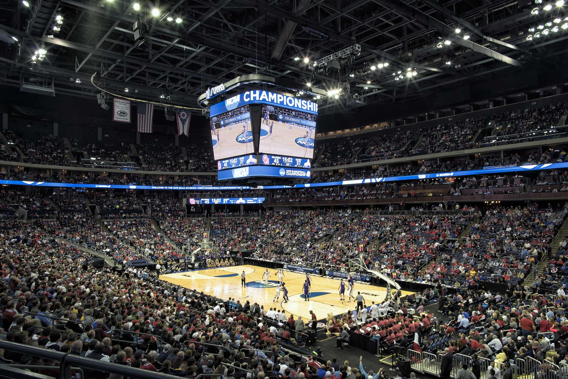 Nationwide Arena by HOK photographed by Lauren K Davis based in Columbus, Ohio