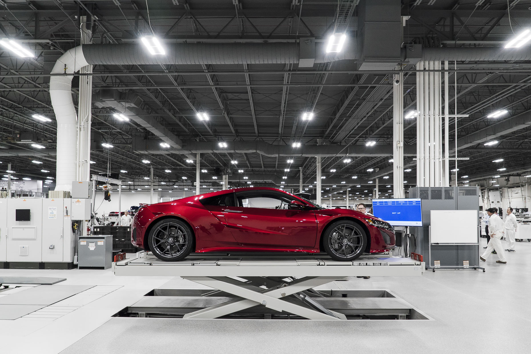 2017 Acura NSX for AUTOWeek photographed by Lauren K Davis based in Columbus, Ohio