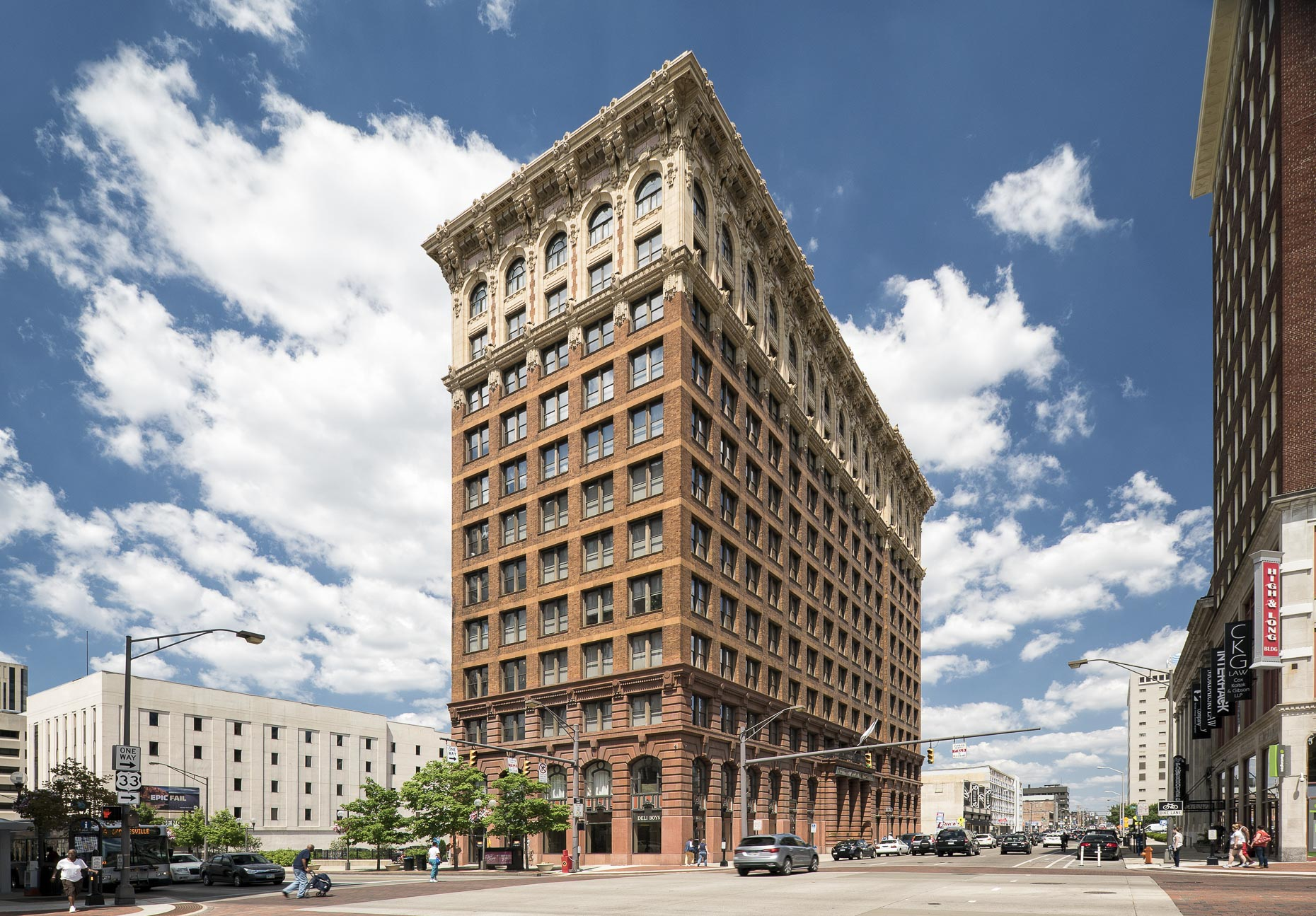 The Atlas Building by Schooley Caldwell Associates photographed by Lauren K Davis based in Columbus, Ohio