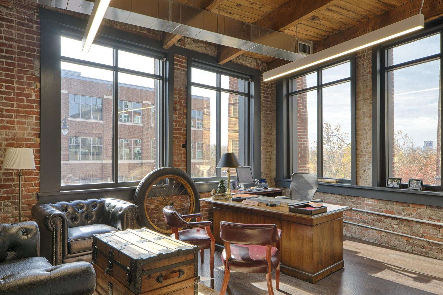 ODW Offices at The Buggyworks by M+A Architects & Turner Construction photographed by Lauren K Davis based in Columbus, Ohio