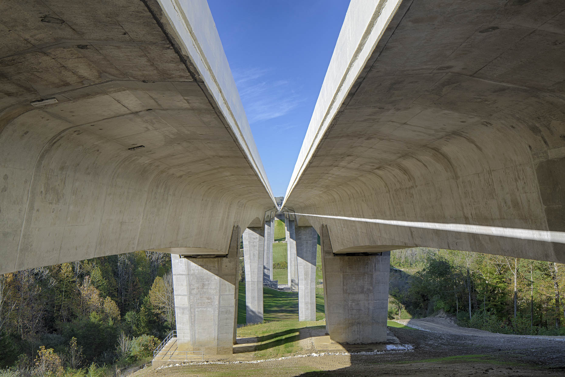 US I-71 Jeremiah Morrow Bridge by Kokosing Construction & HNTB photographed by Lauren K Davis based in Columbus, Ohio